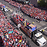 Ticker-Tape Parade Provides Perfect End to Championship Season