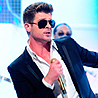 Robin Thicke Takes to Piano for Icona Pop Cover